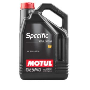 Motul Specific VW 50501 50200 50500 5w40 5L